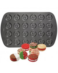 24 Cavity Sandwich Cookie Pan