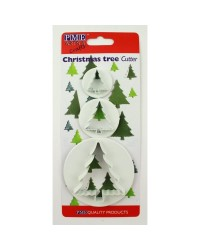 PME Christmas tree cutter set of 3