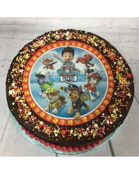 Custom decorated round cake in store pick up only option 1