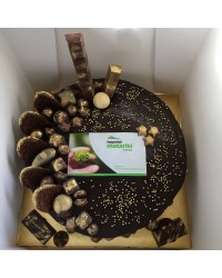 Custom logo Chocolate overload cake in store pick up only