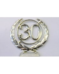 number wreath 30 Gold