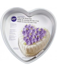 8 inch heart shape cake pan Decorator Preferred by Wilton