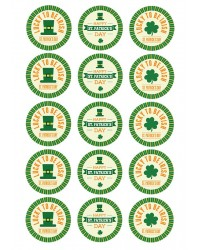 Design Sheet edible image St Patricks Day