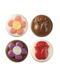 image: Flowers Cookie chocolate mould