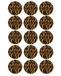 Cupcake edible images (15) SAFARI Tiger print
