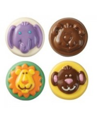 image: Animals chocolate cookie mould Jungle or Safari