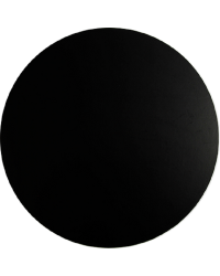 Black masonite cake board 9 inch round