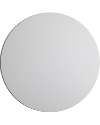 White masonite cake board 8 inch round