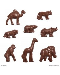 Zoo or jungle animals chocolate mould