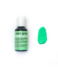 Chefmaster gel paste food colouring Mint Green