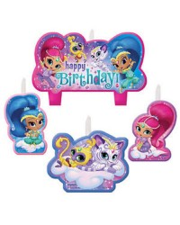 Shimmer and Shine set 4 Candles