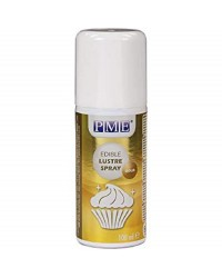 PME Edible lustre spray GOLD 100ml Restricted delivery area