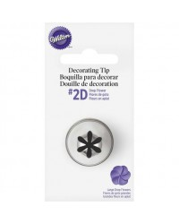 Large Wilton icing nozzle tip 2D Rose Swirl or Drop Flower