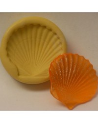 Scallop shell large silicone mould for isomalt by Simi Cakes