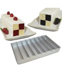 Fat Daddios Stax pan for battenburg cakes and more