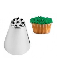Large Wilton icing nozzle tip 234 for Grass multi hole