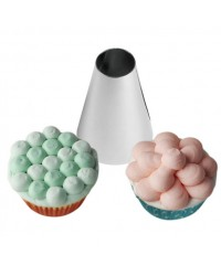 Large Wilton icing nozzle tip 1A round cupcake swirls