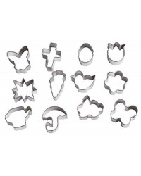 Mini cookie cutter set 12 Easter