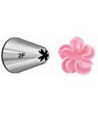 Large Wilton icing nozzle tip 2F Drop Flower or Rosettes