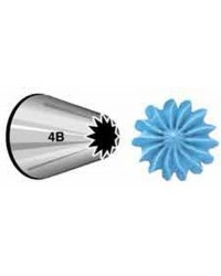 Large Wilton icing nozzle tip 4b Drop Flower and Cupcake Swirls