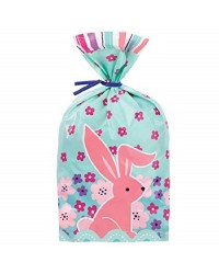 Easter Bunny blue and pink treat bags (20)
