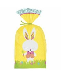 Easter Bunny Yellow treat bags (20)