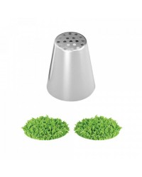 Large Grass icing tip nozzle 36mm Russian Style