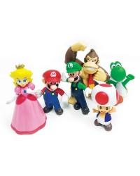 Super Mario Bros cake topper figurines set 6