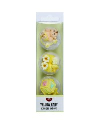 GoBake Sugar icing decorations Baby Yellow