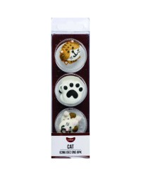 GoBake Sugar icing decorations Cats