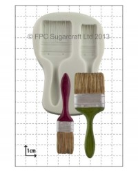 image: Paintbrushes silicone mould