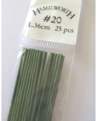 image: 20 gauge wire GREEN (pkt 25)