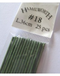 image: 18 gauge wire GREEN (pkt 25)