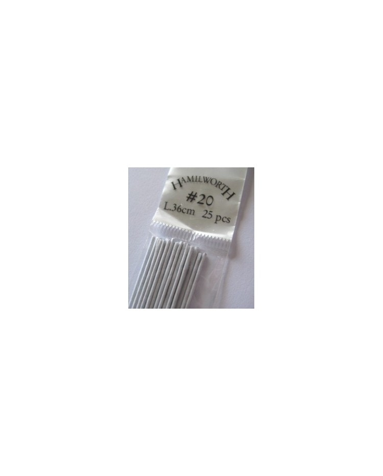 image: 20 gauge wire WHITE (pkt 25)