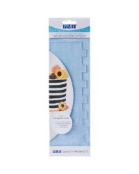 PME XL Side texture scraper comb for buttercream icing Stripes
