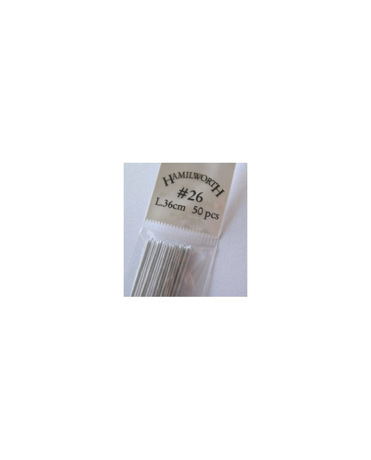 image: 26 gauge wire WHITE (pkt 50)