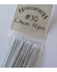 image: 30 gauge wire WHITE (pkt 50)