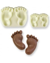 Baby Feet POP it Cutter Mould set