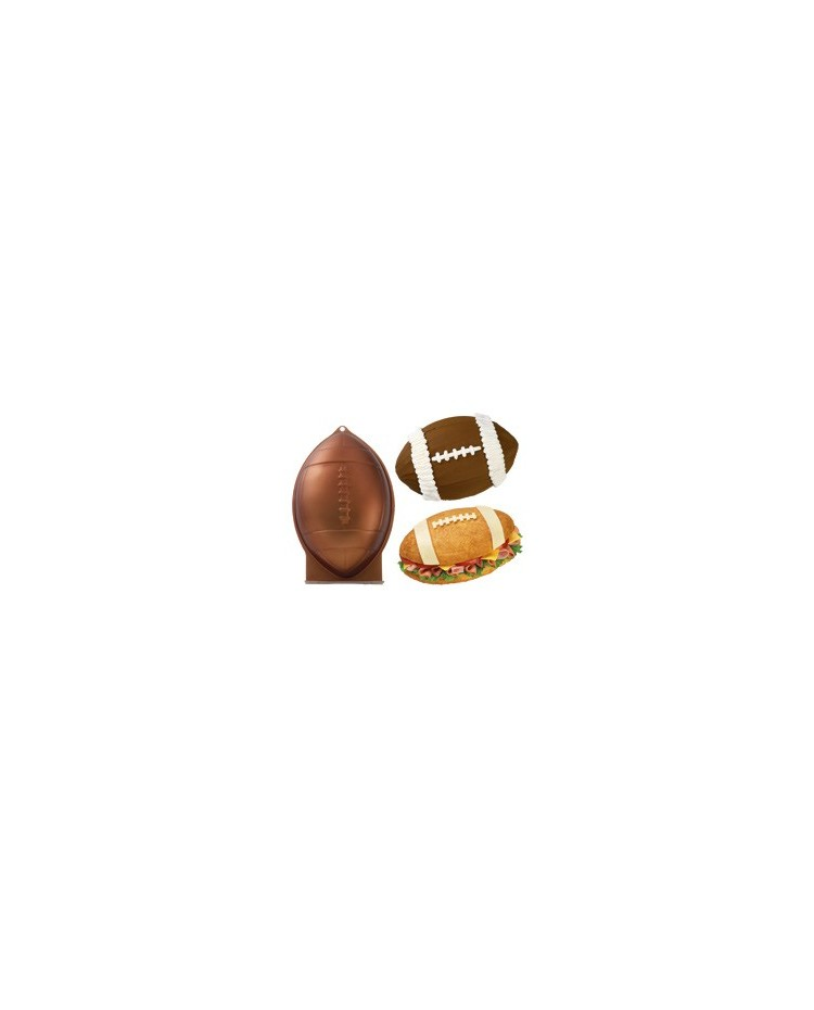 image: First and ten Football Rugby ball cake pan USE FOR ROCKET TOO