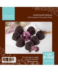 Rose truffle chocolate mould Deep Cavity
