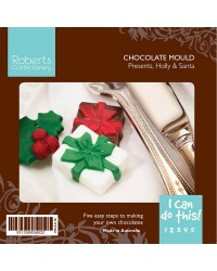 Gift Truffles Christmas asstd chocolate mould and instructions