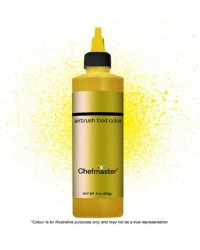 Chefmaster Airbrush colour 9oz 255g Metallic gold