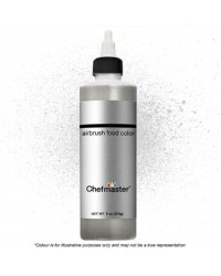 Chefmaster Airbrush colour 9oz 255g Silver