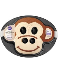 Non stick Monkey face cake pan use for Cow too