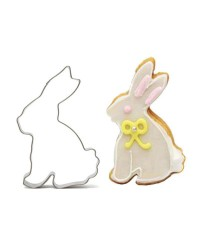 Easter Bunny Rabbit sitting Cookie cutter