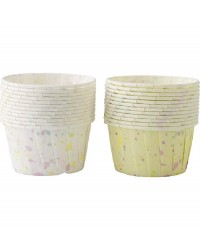 Sweet Splatters bakeable Nut Cup cupcake papers baking cups