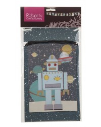 Robot party bunting banner garland