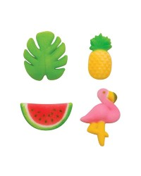Tropical Summer Luau Sugar icing decorations (12)