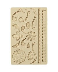 Wilton lace fondant and gumpaste silicone mould