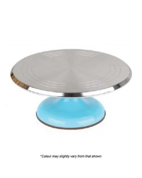 Blue Base Metal Turntable